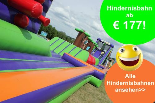 Hindernisparcour indoor mieten